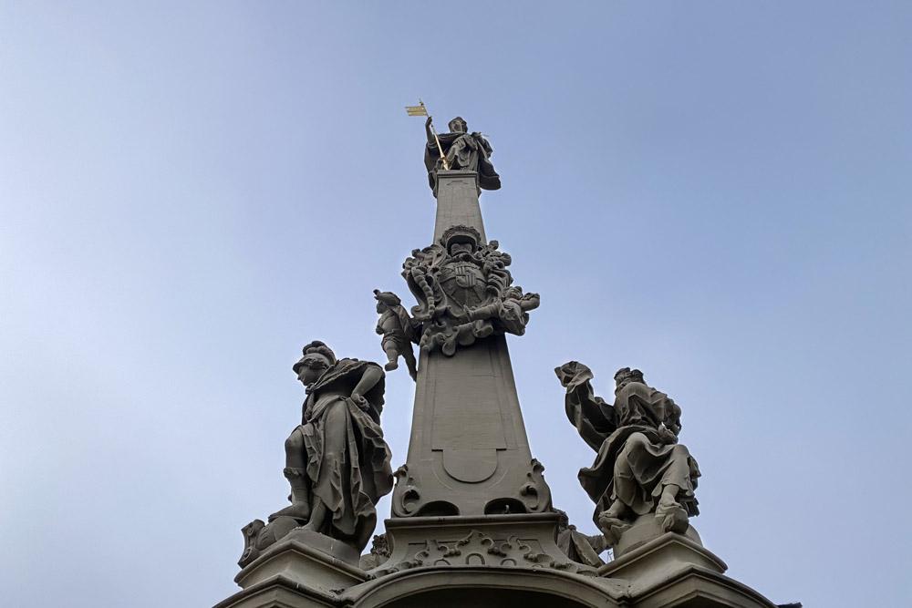 Würzburg - Vierröhrenbrunnen
